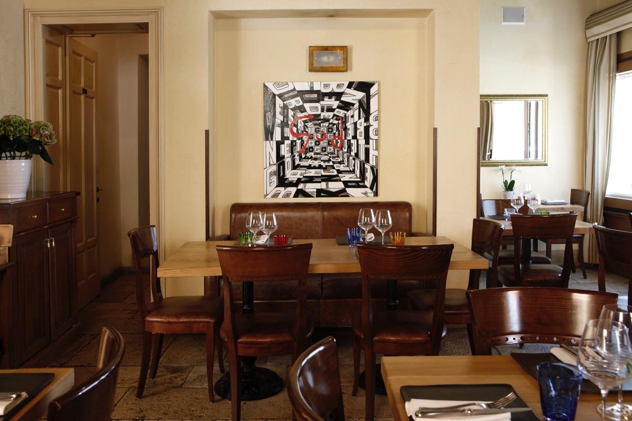 sala da pranzo ristorante le contrade Sacile